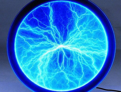 Eurolite 80600120 Plasma Scheibe (30 cm) blau
